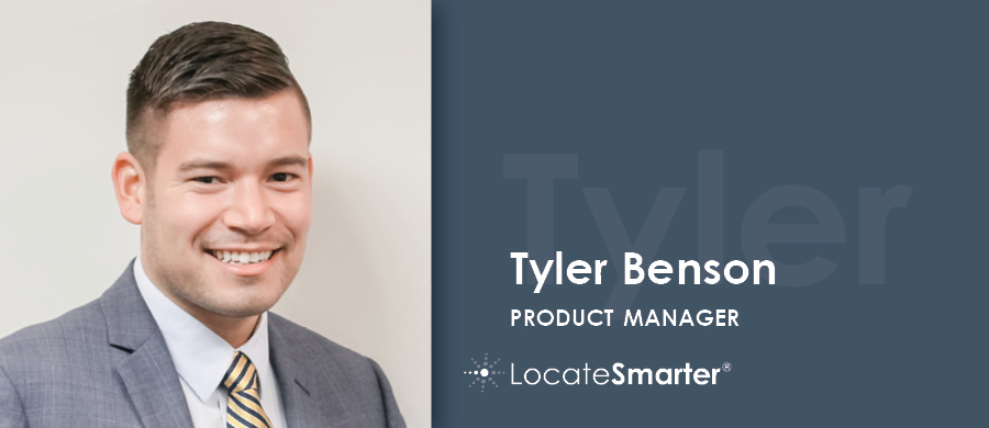 Tyler Benson LocateSmarter Product Manager