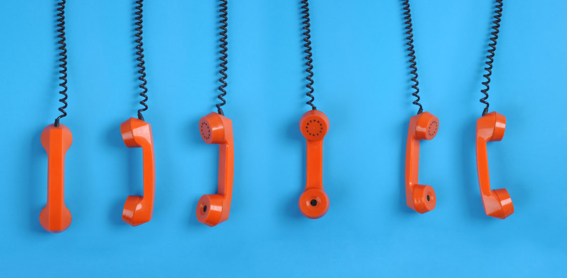 Hanging phones - Batch Skip Tracing KPIs Blog