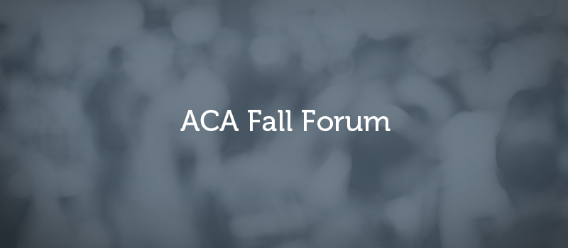 DJ's Top 6 Moments from ACA Fall Forum 2017